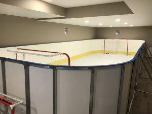 Basement Synthetic Ice Rink - Holmdel, NJ