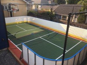 Hockey Boards on Sport Court - Kirkland, WA