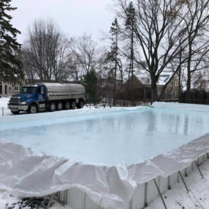24' Width Rink Liners