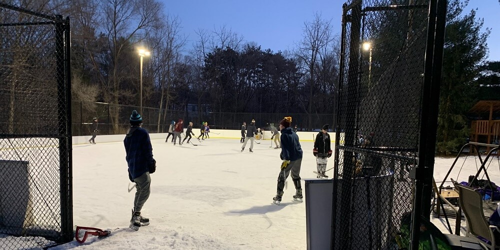 Backyard Winter Rink - Eau Claire, WI