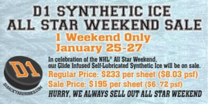 D1 - All Star Weekend Sale
