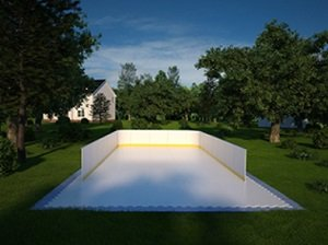 3 Sided Hockey Boards