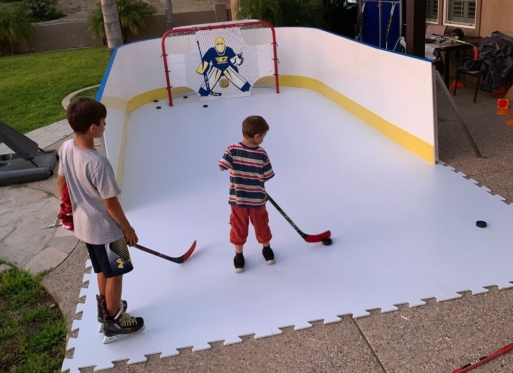 Can You Ice Skate on Hockey Tiles?